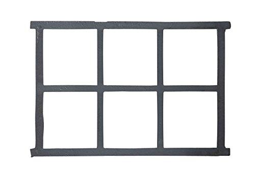 Stallfenster Fenster Scheunenfenster Eisen grau 68 x 49cm Antik-Stil