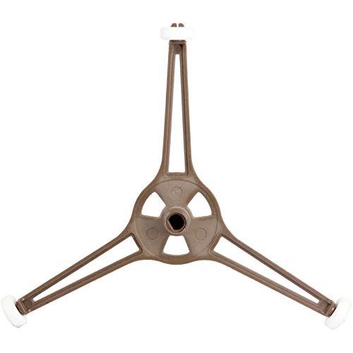 Spares2go Universal con función de atril para plato de microondas giratorio plataforma - brazo Triple