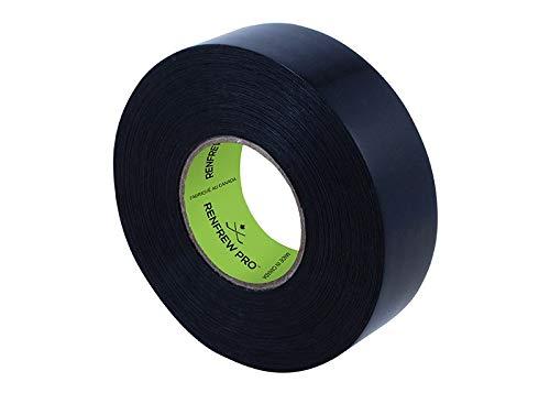 Renfrew Shin Pad Tape f. Stutzen Eishockey, Polyflex Stutzentape 24mm x 30m (schwarz)