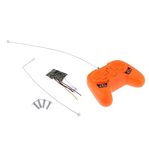 HomeDecTime 2.4G Juego de Receptor de Control Remoto Kid Niños Juguetes RC Piezas de Automóvil Afición