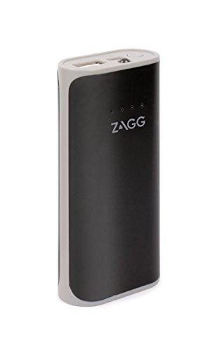 ZAGG IFIGN3-BK0 Zündung 3000mAh Ladegerät mit Blitzlicht, Externe Batterie Power Bank schwarz