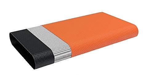 """Quarzflex® Flachschlauch Bauschlauch 32 mm (1 1/4\"""" Zoll) 25 m Rolle Orange 3-lagig"""