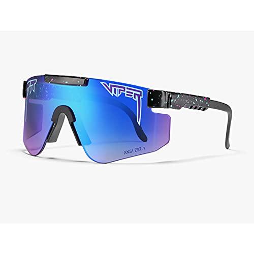 Gafas de sol C32 Ciclismo Z87 lente TR marco grande PC integrado a prueba de viento para ciclismo, béisbol, pesca, esquí correr, golf