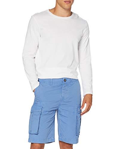 Pepe Jeans Herren Badeshorts Pepe Jeans, Blau (Ultra Blue 542), 38 (Herstellergröße: 29)