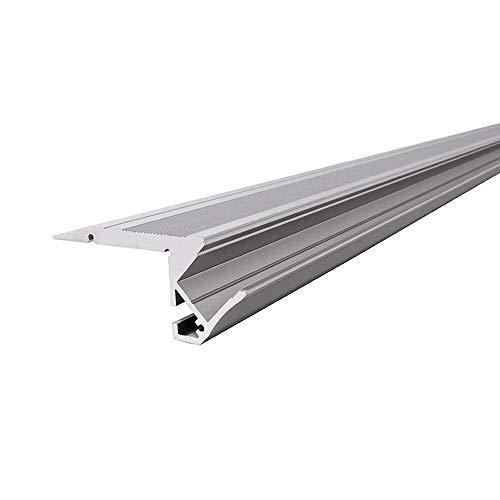 Reprofil LED Profil AL-01-10 Treppenstufen-Profil für 10-11,3 mm LED Stripes, 1000 mm, aluminium eloxiert 970500