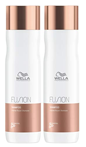Set van 2 Wella Professional Fusion Intense Repair Shampoo 250 ml