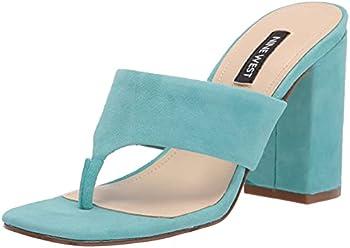 Nine West Gogo Block Heel Slide Women's Sandals