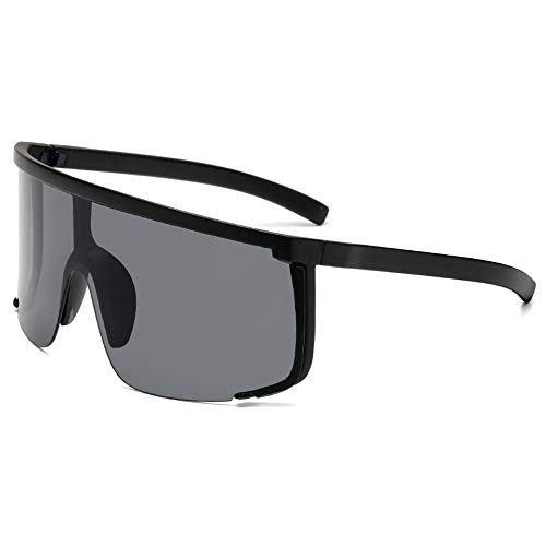 MEISI Gafas de Sol polarizadas de Gran tamaño para Mujeres,Gafas de Sol para Exteriores UV400 con Visera Anti-Voyeur,Gafas de Sol para Mujer con Montura Grande Gafas de Sol para Mujer de Moda Vintage