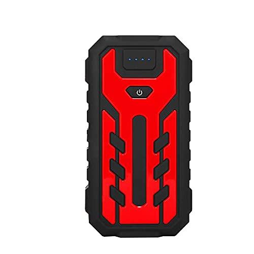 YAOQI 2500A Arrancador de Baterias de Coche con IP68 Impermeable, 18000mAh Arrancador de Coches para Gasolina de 9L y Diésel de 8L, Carga Rápida
