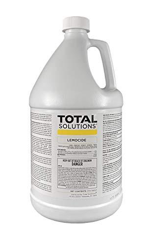 Total Solutions Lemocide   Professional Disinfecting Mildew, Virus & Mold Killer - Cleans & Deodorizes, Lemon Scent (1 Gallon Super Concentrate)