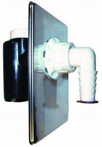 Einbau-Waschmaschinen-Anschluss HL 440 mit Geruchsperre