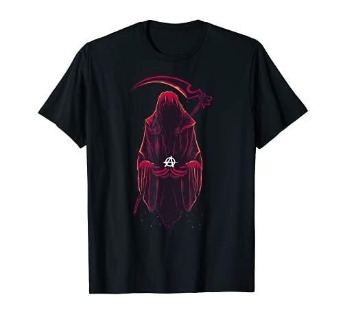 Idea de disfraz de Halloween de Anarqua de Reaper Camiseta