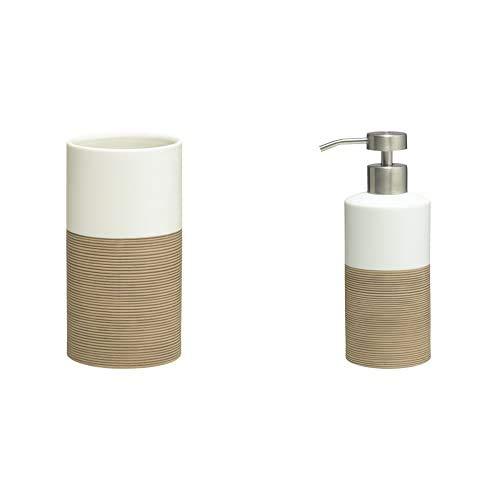 Sealskin Vaso para Cepillo de Dientes + Dispensador de Jabón