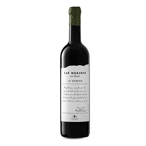 Las Moradas de San Martin la Sabina, Vino tinto - Añada 2014 - D.O. Vinos de Madrid - 75 cl. - muy redondo y equilibrado - Fresco, Vivo y Elegante