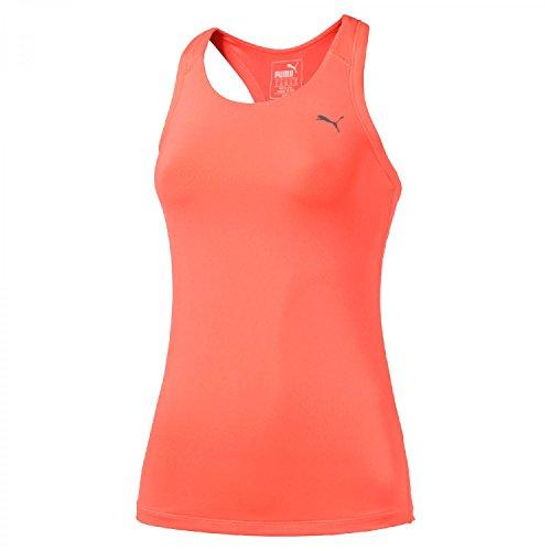 PUMA at Ess Rb Débardeur Femme, Orange, FR : L (Taille Fabricant : L)