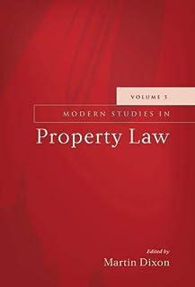 Modern Studies in Property Law - Volume 5
