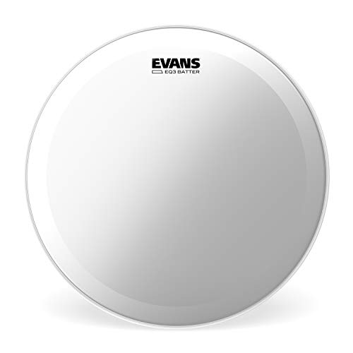 Parche hidráulico transparente para bombo de 22 pulgadas (559 mm) EQ3 de Evans.
