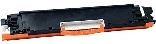 Yellow Yeti 126A CE310A Negro 1200 páginas Tóner Compatible para HP Laserjet Pro M175nw M175a CP1025 CP1025nw TopShot MFP M275 M275a M275nw [3 años de garantía]