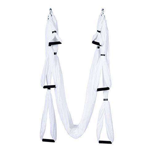 N\C Hamaca de Yoga aérea Ejercicio en casa Estiramiento Cinturón Doblar sobre Las Manos Entrenador de Caballos de una Palabra Rally de Yoga Cuerda de Yoga aérea