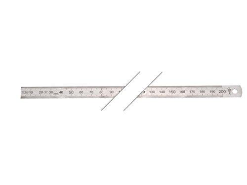 HELIOS-PREISSER Stahlmaßstab biegsam EG-Prüfzeichen Genauigkeit II, 1000 x 20 x 0.5 mm, 0460226
