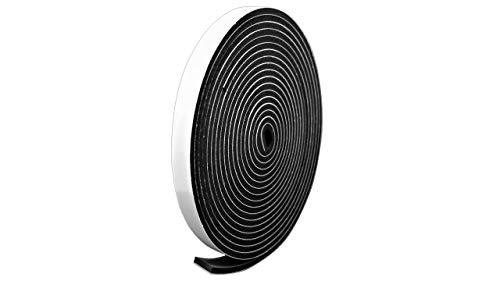 プランプ オリジナル 隙間テープ スキマッチ 黒 ブラック 厚 2 mm × 幅 10 mm × 長さ 2m 2本入(合計4m) 日本製 ゴムスポンジ 防水 防音 すきま 窓 玄関 引き戸 隙間 パッキン