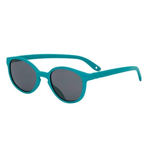 KI et la Wazz - Gafas de sol para bebé y niño, 1 a 4 años Vert Paon 12-24 meses