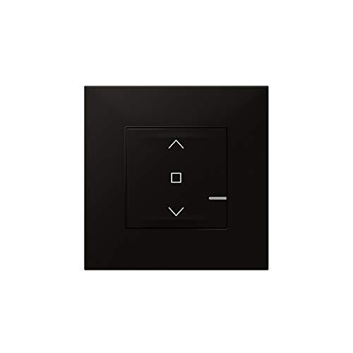 Interruptor control de persianas 230V, con sistema Starter Pack, modelo Valena Next, color negro, 6 x 8,5 x 8,5 centímetros (referencia: Legrand 741867)