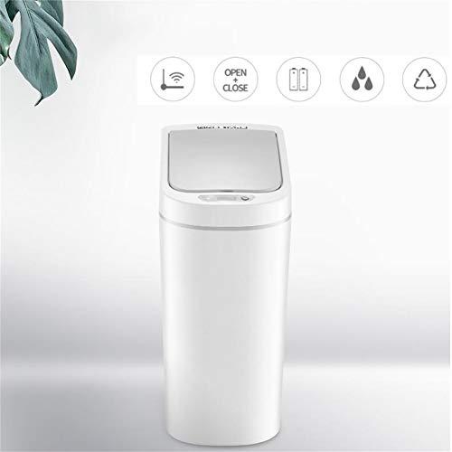 Trash Can Garbage Bin Garbage wasbasket plastic bin afvalemmer Bathroom vuilnisbak prullenbak plastic houder sensor vuilnisemmer Smart vuilnisemmer badkamer inductie waterdicht afval