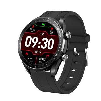 Bysion Reloj Inteligente para Hombre, Monitor de Ritmo cardíaco para Ejercicio, Resistente al Agua, Pantalla táctil, Reloj Inteligente, podómetro, rastreador de Actividad física y calorías