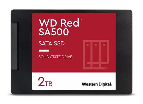 Western Digital WD Rojo SSD 2.5 SATA, 2 TB, Rojo