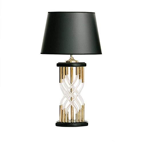 Tafellamp, bedlamp, leeslamp, lamp voor slaapkamer, model van ijzer, van glazen buis in Chinese stijl, minimalistisch, achteraf