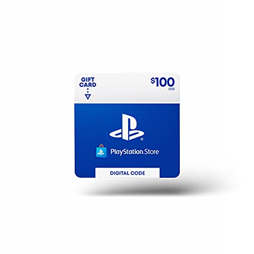 $100 PlayStation Store Gift Card...