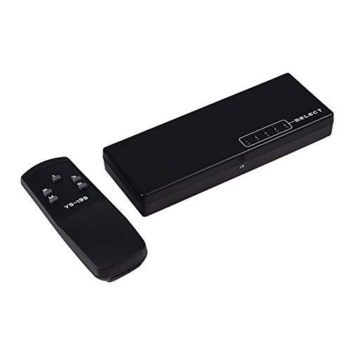 Interruptor Fuerte Durable de Hdmi de 5 Puertos, Interruptor portátil del Amplificador de 5W Hdmi, para el DVD de Ps3 HDTV