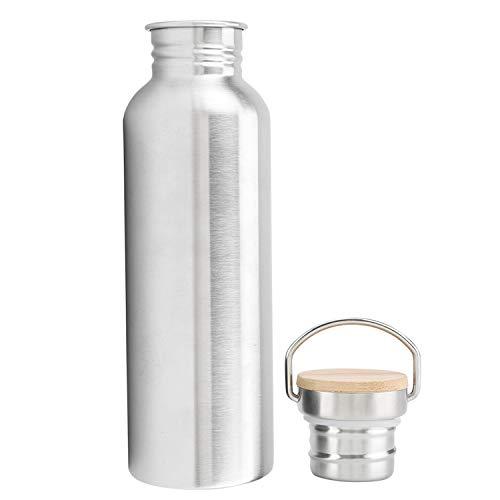 hengguang VenVont Botella De Agua De Acero Inoxidable - Botella De Agua Aislada Al Vacío, Reutilizable De Metal De Doble Pared, Mantiene El Agua Fría Todo El Día, Sin BPA,ecológica 750ML