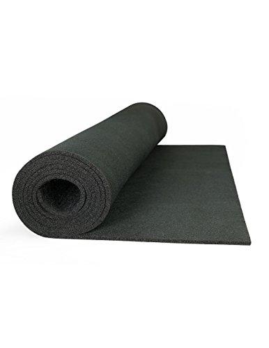 Schweißermatte Unterlage für Handwerker, hitzebeständig, schwarz ca. 1,82 x 0,91 m