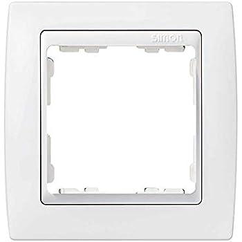 6558230162 82640-30 marco 4 elemento s-82 monocolor blanco nieve Ref Simon