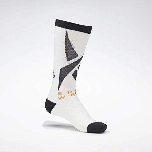 Reebok Edgwre Eng Crew Sock Calcetines, Unisex Adulto, Blanco, L