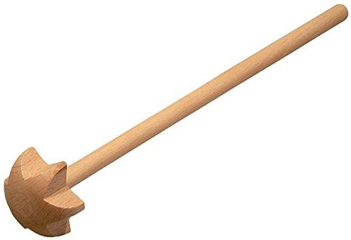 Gravidus Handrührer Quirl aus Buchenholz 30 cm