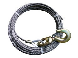 BA Products Ships in 1 to 2 Business Days 4-38SC50S Winch Cable, 3/8