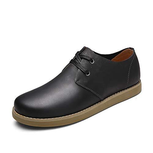 YU Zapatos cuero casuales hombres 2018 Caída Zapatillas