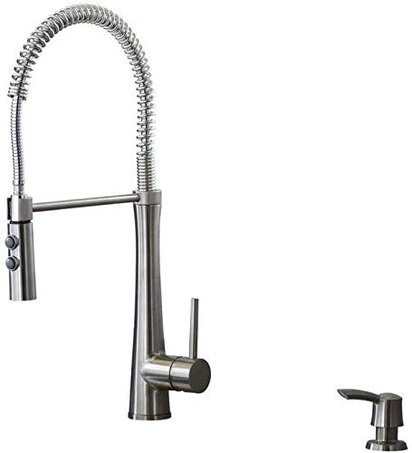 cheap GiagniFresco Stainless Steel Convertible Kitchen Faucet