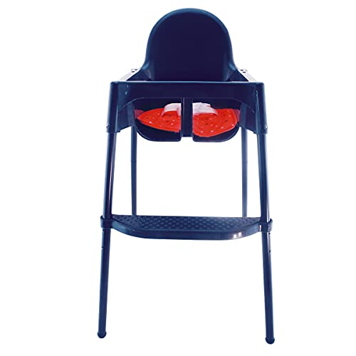 Bieco Kinderhochstuhl mit Tablett, Sitzkissen, Gurt; Stahlbeine mit AntiRutsch   Kinderhochstuhl Klappbar   Hochstuhl Baby   Kinder Hochstuhl   Baby Hochstuhl   Kinder Tisch   Baby Hochstuhl ab Geburt