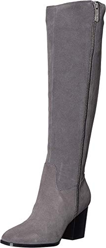 NINE WEST Natty Knee High Boot Dark Grey 7 M