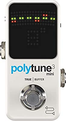 TC Electronic Polytune 3 Mini Guitar Pedal Tuner