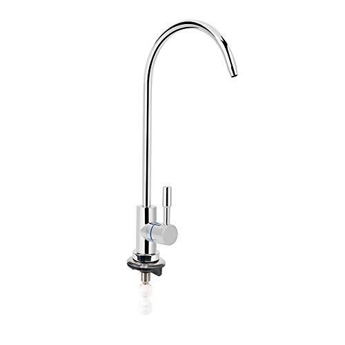 Grifo RO de una manija, purificador de ósmosis inversa Filtración Grifo de filtro de agua potable Mini cuello de cisne Grifo de filtro de agua potable