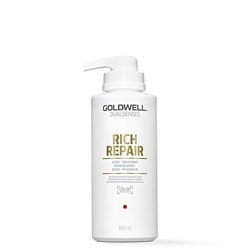 Goldwell Dualsenses Rich Repair 60 seconds Treatment, 1er Pack (1 x 500 ml)