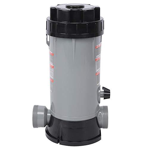 Alimentador automático de Cloro, clorador automático para Piscinas CL-200 Resistente y Duradero para Equipos de desinfección de Piscinas Estanque Piscina Hogar Estanque de Peces al Aire