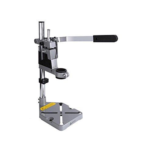 Instelbare houder boren tafelklem multifunctionele boorstandaard werkbank reparatietool, max. boordiepte 60 mm