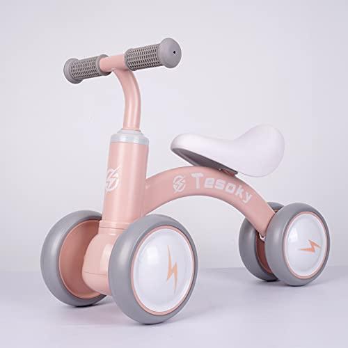 Bici Senza Pedali, Bicicletta Senza Pedali Bicicletta Giocattoli bici Bambino Balance Bike per Ragazzi e Ragazze Interno Allaperto Triciclo Bambini per 1-3 Anni (10-36 Mesi)