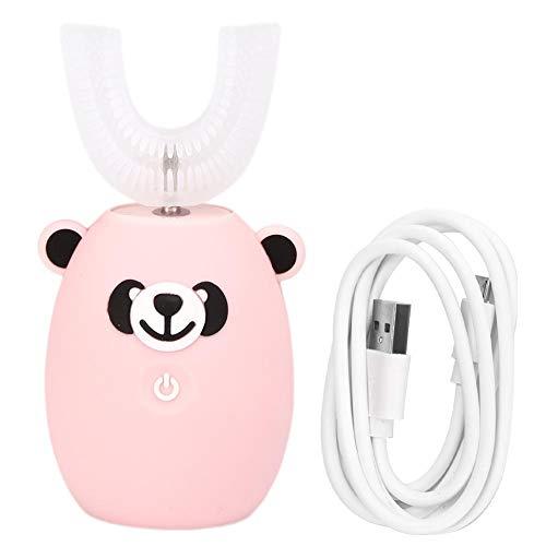 Cepillo de dientes eléctrico con cabeza en forma de U para niños,...